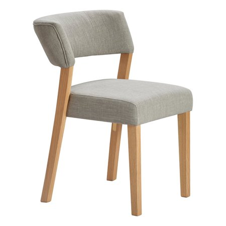 Tommy Hilfiger Waltham Dining Chair Set of 2 Light Gray ()