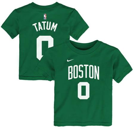 244621bff46 Nike - Jayson Tatum Boston Celtics Nike Preschool Name & Number T-Shirt -  Green - Walmart.com