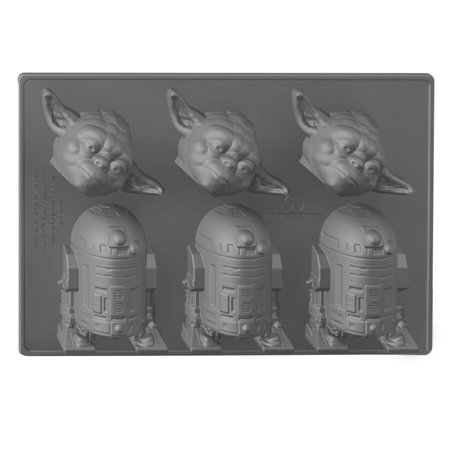Star Wars Silicone Ice Cube Tray: Yoda and R2-D2