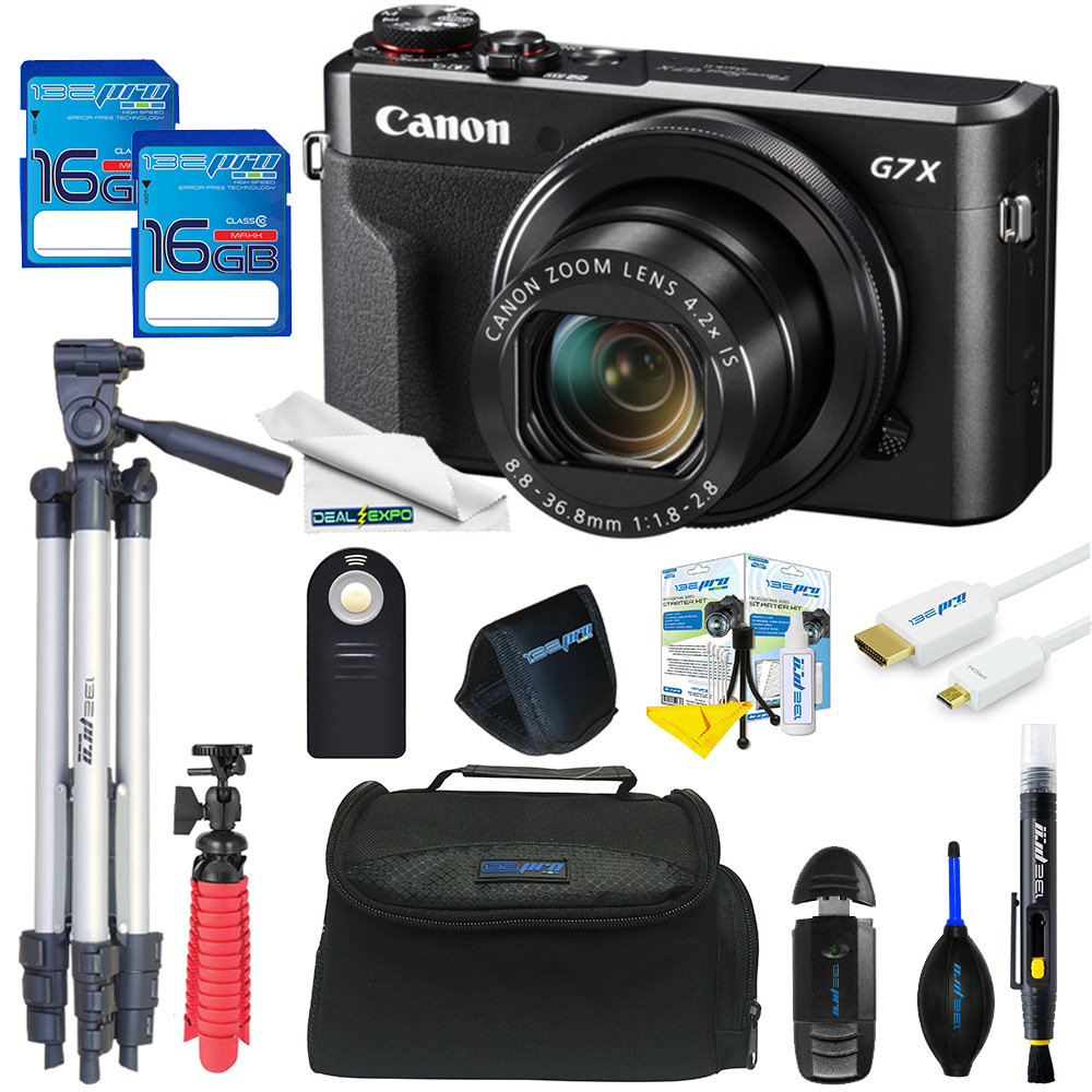 Canon PowerShot G7 X Mark II Digital Camera + Expo Advanced Kit