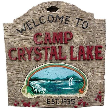 Friday The 13th Camp Crystal Lake Sign