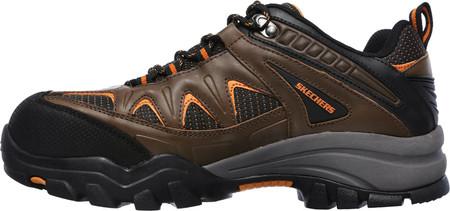 men's skechers work delleker steel toe waterproof sneaker