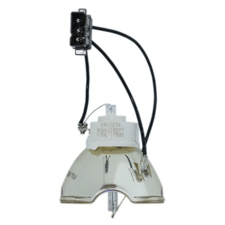 Original Ushio Projector Lamp Replacement with Housing for Sanyo PLC-WM5500L - image 2 of 5