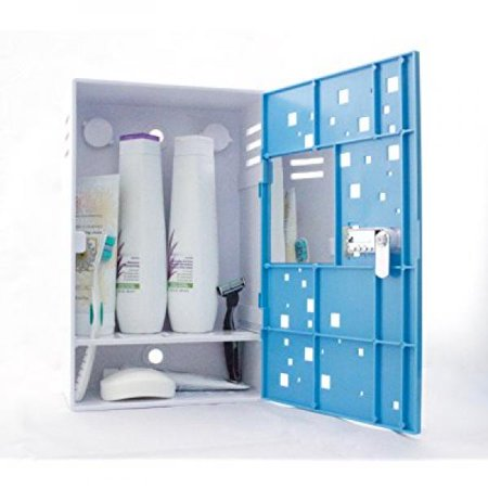 The Shlocker, Waterproof Shower Locker Caddy. Triple Combination ...
