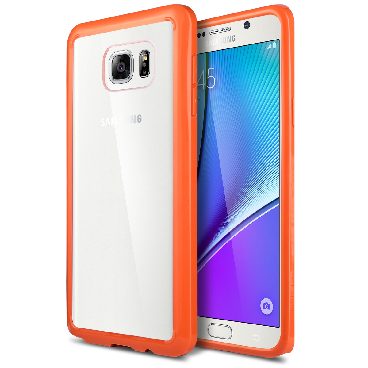 ULAK Galaxy Note 5 Case Shock Resistance 3in1 Anti Slip Note 5 Case Hybrid With Soft Flexible Inner Silicone Skin Protective Case Hard Cover
