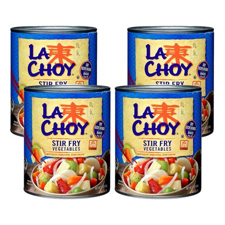(4 Pack) La Choy Stir Fry Vegetables, 28 (Stir Fried Beef)