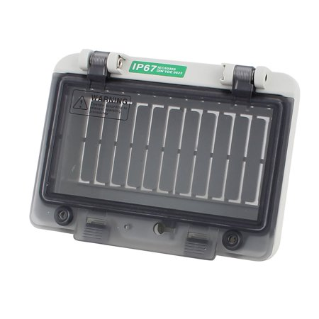 Plastic Water Breaker (Plastic Waterproof 6 Position Distribution Box Switch Cover for Circuit)