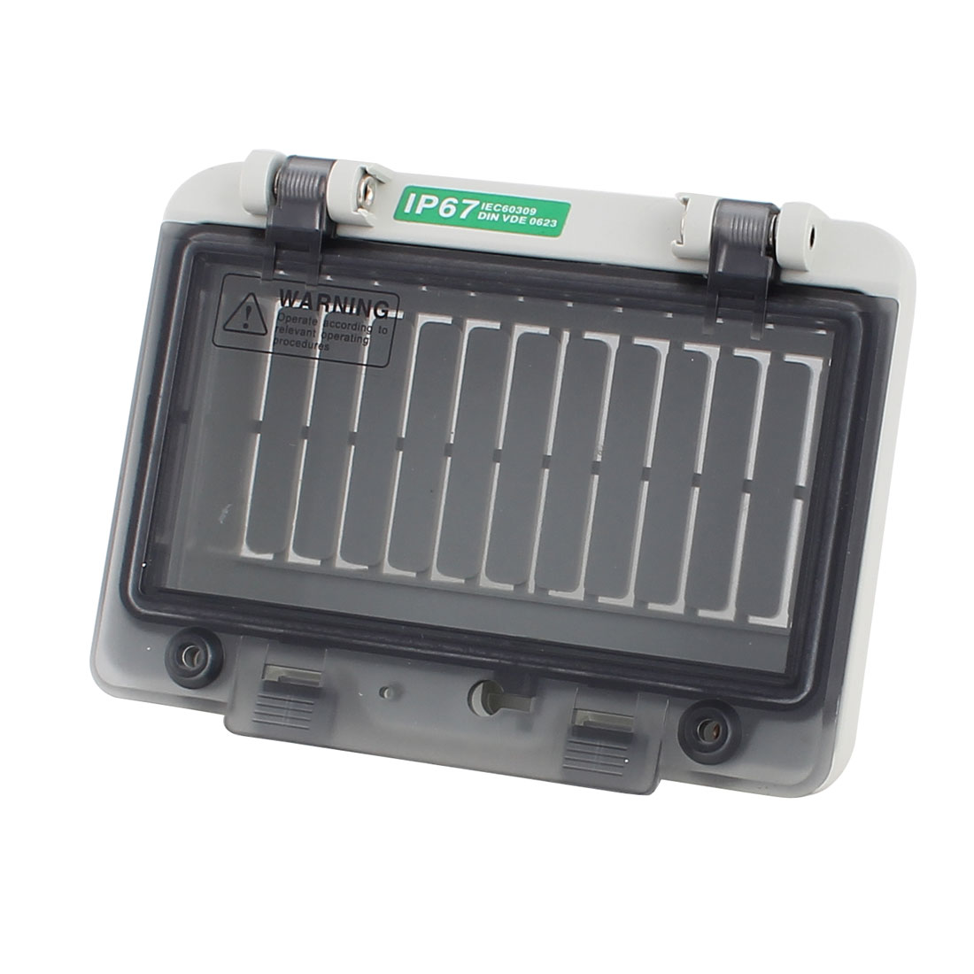 Plastic Waterproof 6 Position Distribution Box Switch Cover for Circuit Breaker