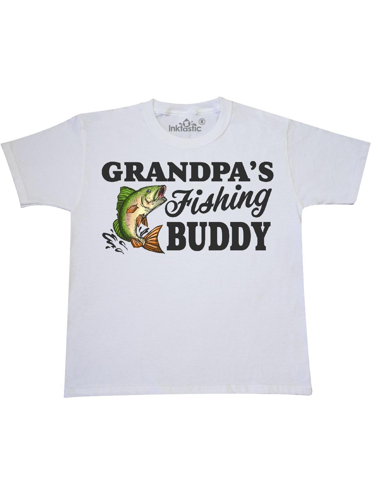 Grandpa/'s Little Bass Playing Buddy Toddler T Shirt