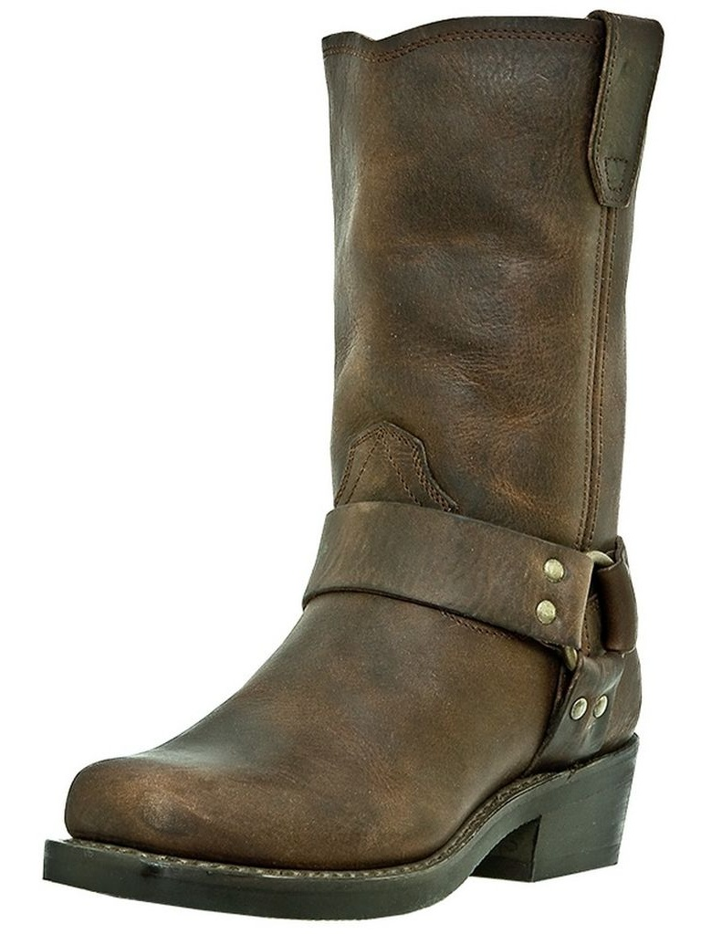 Motorcycle Boots Womens Molly Harness Gaucho Nutty Mule DI7374