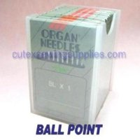 100 ORGAN BLX1 Portable Serger Needles For Babylock Bernette -18/110