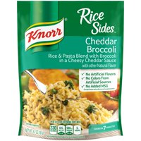 (6 pack) Knorr Rice Side Dish For Rich, Savoury Flavor Cheddar Broccoli No Artificial Preservatives 5.7 Oz