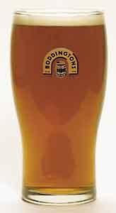 4 NUMBER BODDINGTONS PINT GLASSES