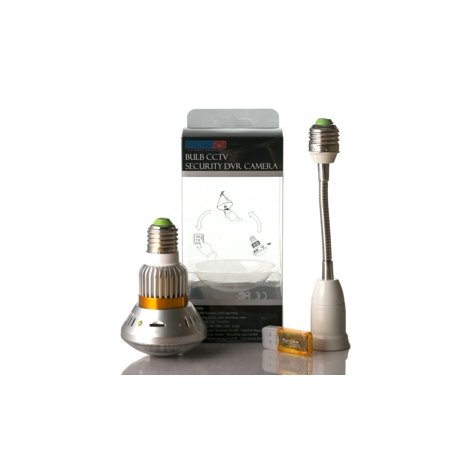 Infrared Digital Audio Video Recorder Bulb Motion Detect Security Cam - image 6 of 9