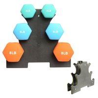 Ardorlove Weight Lifting Dumbbell Rack Stands Dumbbell Supportor Equipment