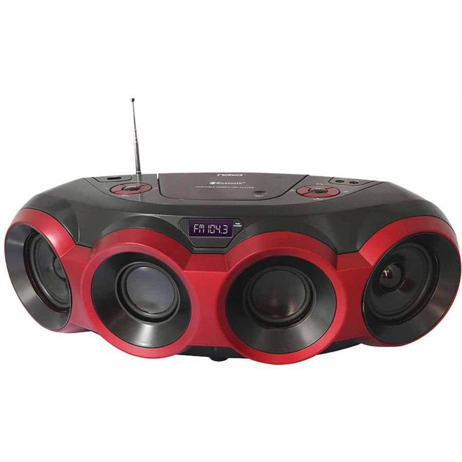 Naxa NPB-266 MP3 CD Party Bluetooth Boombox by Naxa