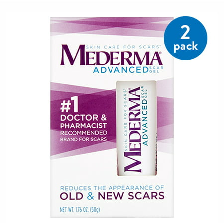 (2 Pack) Mederma Soothing Formula Scar Treatment, 0.70 oz](Scars On Face For Halloween)