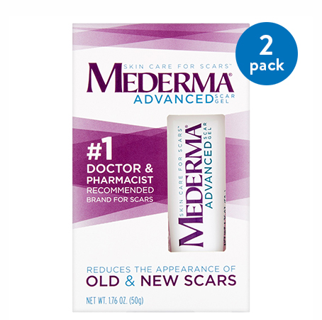 (2 Pack) Mederma Soothing Formula Scar Treatment, 0.70 oz