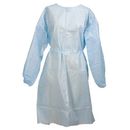 McKesson Brand Medi-Pak Fluid-Resistant Gown - 53801100CS - Yellow, 50 Each / Case