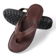 096f3f63e07151 AERUSI - AERUSI Men s Rio Groove Sandals - Walmart.com