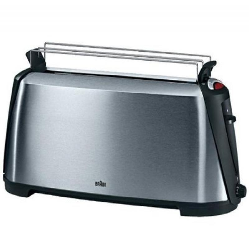 Braun HT600 Sommelier Stainless Steel Toaster, 220-volts (Will Not Work In U.