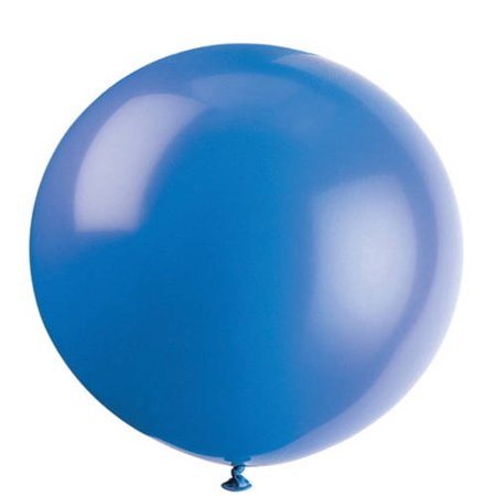 Latex Round Giant Balloons, 36 in, Evening Blue, 6ct](36 Inch Balloons Bulk)