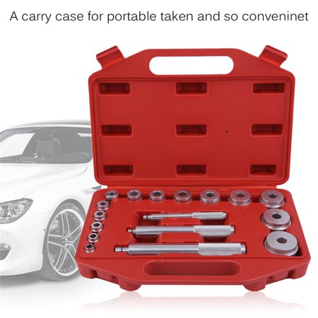 17pcs aluminum alloy small bearing mounting kit complete master tools unit se. Black Bedroom Furniture Sets. Home Design Ideas