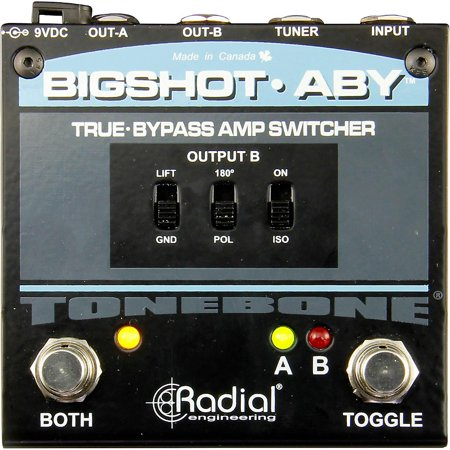 Radial Tone Bone Bigshot ABY LED Switcher Ps Engineering Audio Panel