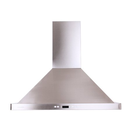 Cavaliere-Euro 36W in. Wall Mounted Range Hood with Aluminum Mesh ()