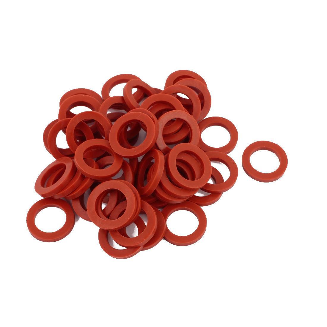 50pcs 24mm x 16mm x 3mm O-Ring Hose Gasket Silicone Washer for Water Heater