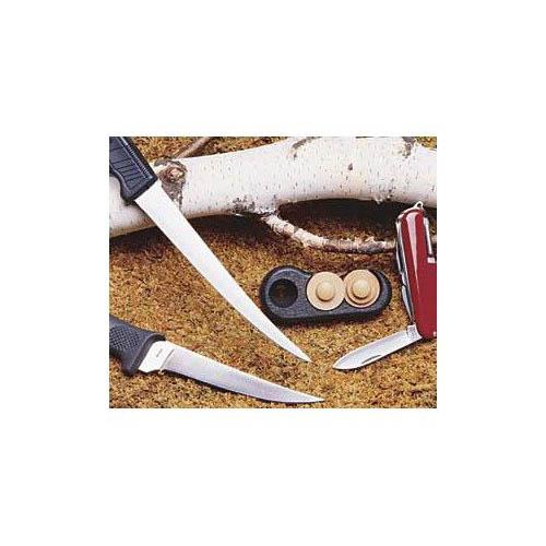 Mcgowan Firestone Pocket Sized Knife Sharpener Multi-Colored