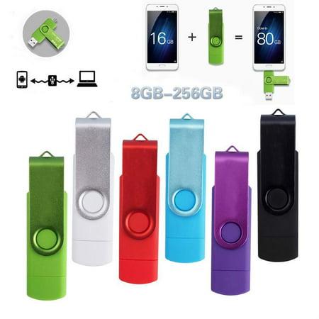 OTG USB Flash Drive USB 2.0 Pen Drive High Speed Stick Smartphone