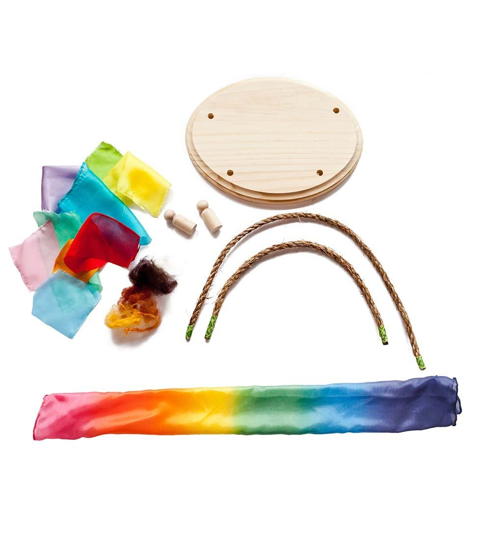 Mini Silk Playhouse Set - Rainbow, Mini Silk Playhouse Se...