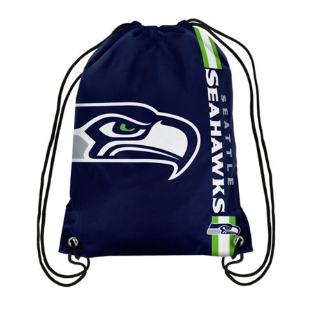 Logo Drawstring Backpack - Seattle Seahawks Big Logo Drawstring Backpack