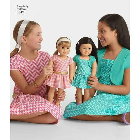 Simplicity Children's Size 3-8 American Girl Dress Pattern, 1 (American Dress Pattern)