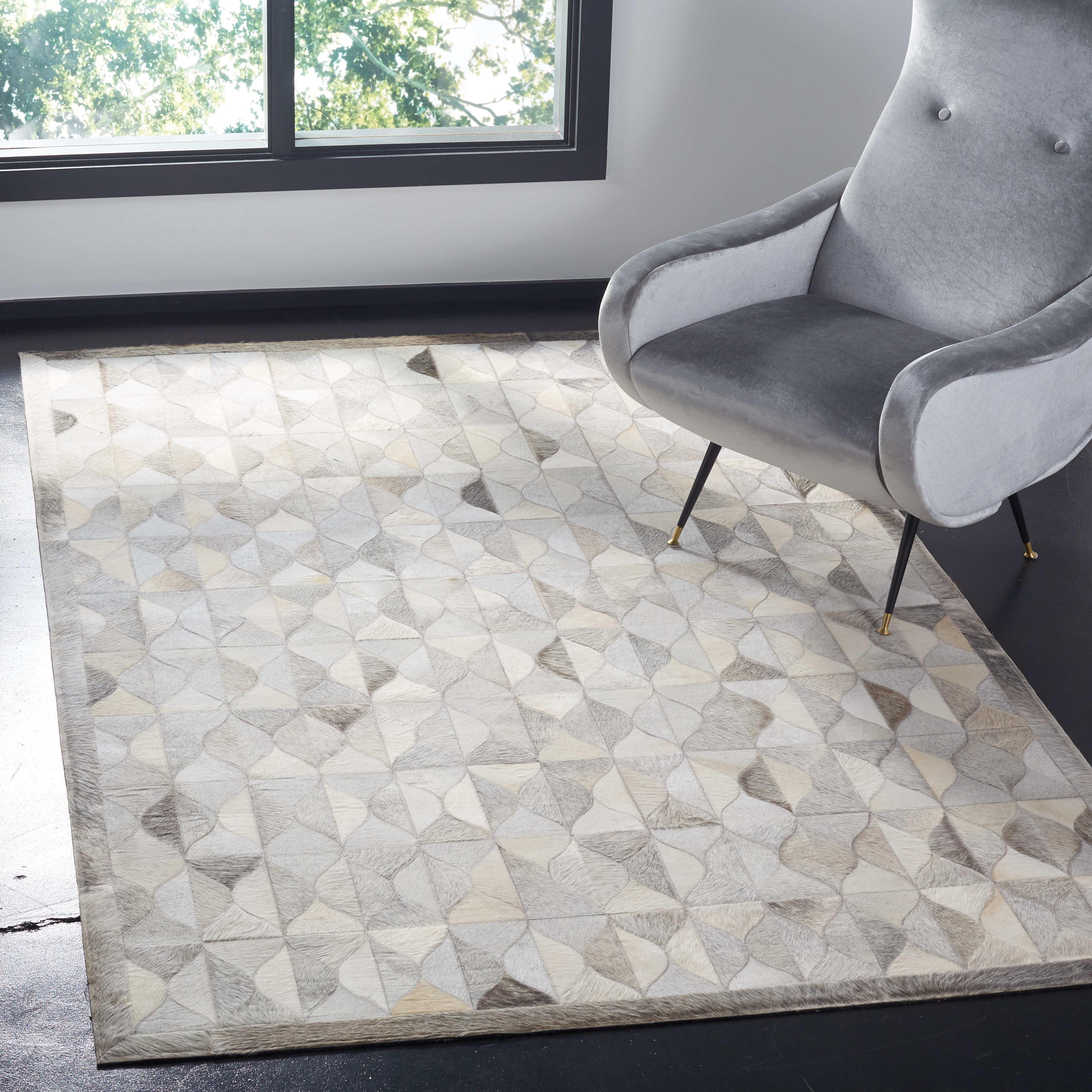 Safavieh Studio Leather Salima Geometric Area Rug or Runner