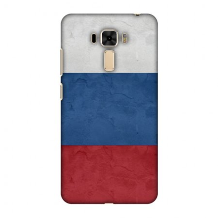 Asus ZenFone 3 Laser Case, Premium Handcrafted Printed Designer Hard Snap on Shell Case Back Cover with Screen Cleaning Kit for Asus ZenFone 3 Laser ZC551KL - Russia flag-