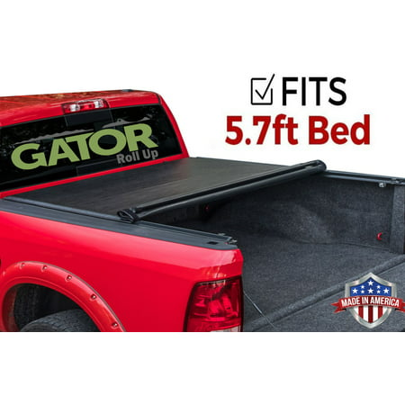 Gator Roll Up (fits) 2019 Dodge Ram 1500 5.7 FT. Bed Only Soft Tonneau Truck Bed Cover Made in the USA