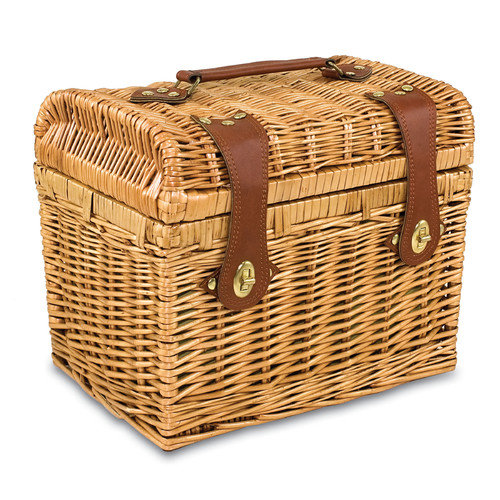 Picnic Time Napa Botanica Wine Basket Set