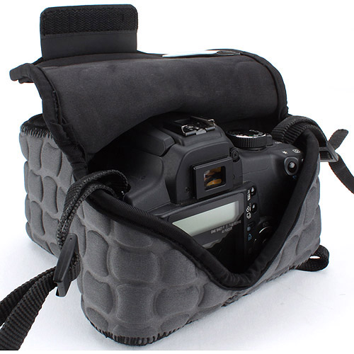 USA Gear FlexARMOR X DSLR Camera Case Holster Sleeve - Works with Nikon , Canon , Pentax and More Cameras