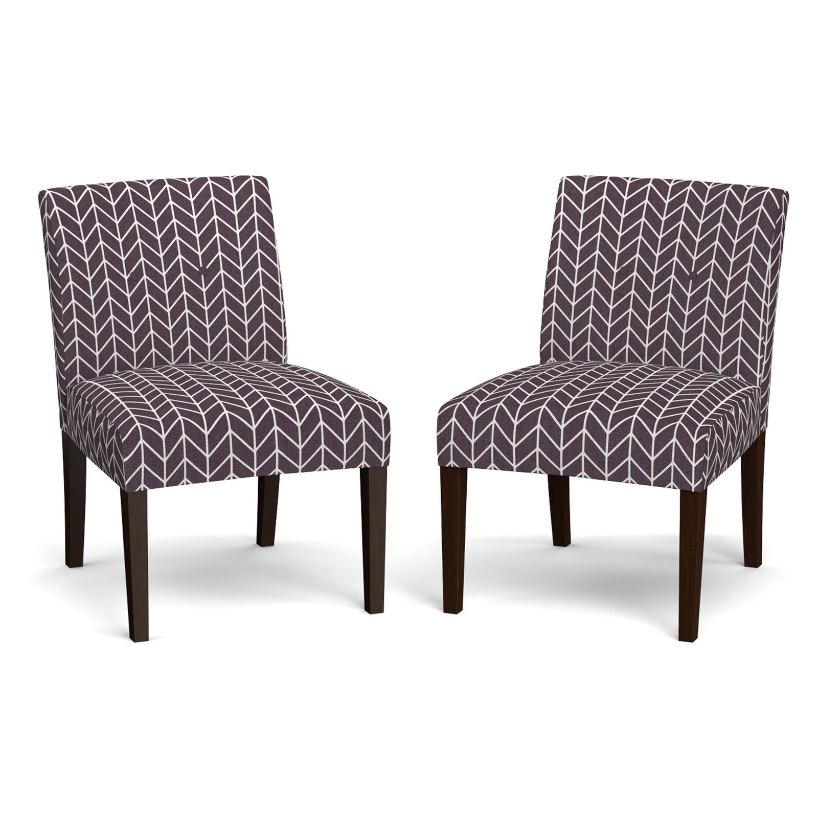 Nate Armless Chair, Set of 2