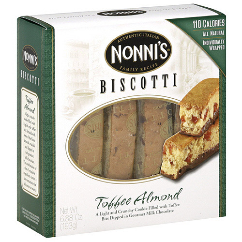 Nonni's Almond Biscotti, 6.88 oz, 12ct (Pack of 12)