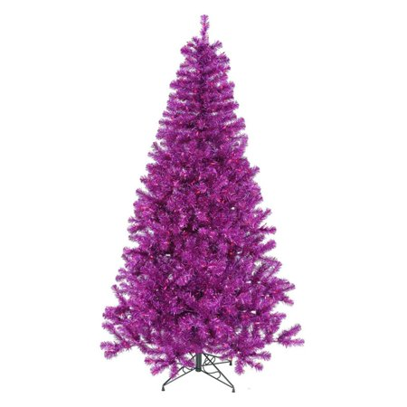 Vickerman Purple Full Christmas Tree - Walmart.com