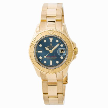 Pre-Owned Rolex Yacht-master 169628 Gold Women Watch (Certified Authentic & Warranty)