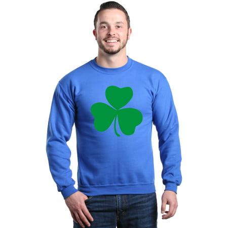 - Shop4Ever Men's Lucky Irish Shamrock Clover St. Patrick's Day Crewneck Sweatshirt