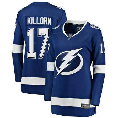 Alex Killorn Tampa Bay Lightning Fanatics Branded Women's Breakaway Player Jersey -