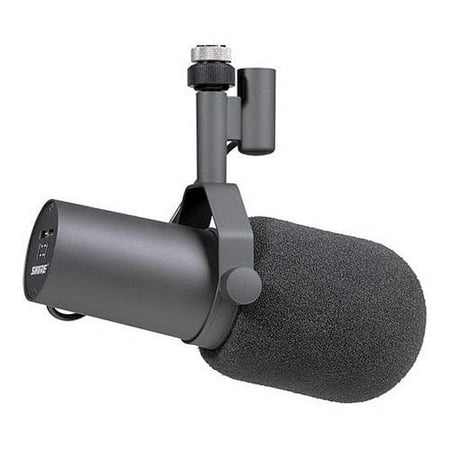 - Shure SM7B Dynamic Vocal Microphone