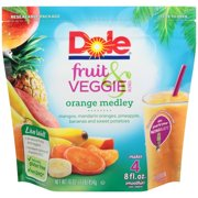 Dole Frozen Fruit & Veggie Blends Orange Medley Smoothies, 16 oz