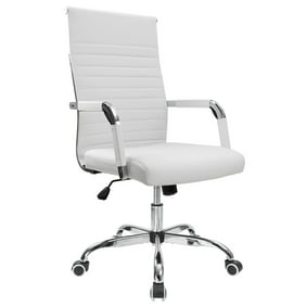 Awe Inspiring Brenton Studio Mayhart Vinyl Mid Back Chair Black Alphanode Cool Chair Designs And Ideas Alphanodeonline
