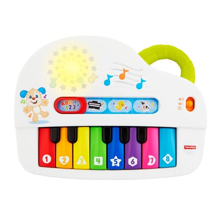 Fisher-Price Laugh & Learn Silly Sounds Light-up Piano (Piano For 2 Year Old)